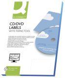 CD-Etiketten - Classic Size, weiß, 50 Stück/25