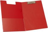 Klemm-Mappe mit Folienüberzug - rot