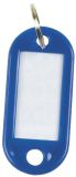Schlüsselanhänger 10ST d.blau