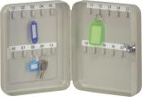 Schlüsselschrank Pearl grey - 20 Haken, Zylinderschloss
