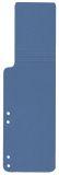 Aktenschwänze - blau, 100 Stück