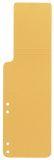 Aktenschwänze - gelb, 100 Stück