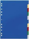 Register - PP, blanko, farbig, A4, 10 Blatt