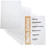 EDV-beschriftbare Folie CRYSTAL SIGN refill, 210x297mm