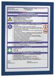 Magnetrahmen DURAFRAME® A4, 322 x 236 mm, dunkelblau