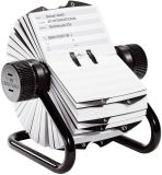TELINDEX® Rollkartei mit 500 beidseitig bedruckten Karteikarten, inkl. Register