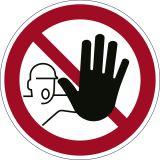 Bodenmarkierungssymbol Zutritt verboten  - Ø 430 mm, abriebfest