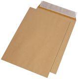 Versandtaschen E4, ohne Fenster, haftklebend, 130 g/qm, braun, 250 Stück