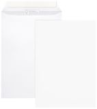 Versandtaschen, o. Fenster, 100 g/qm, B4 (250x353 mm), 100 Stück, haftklebend