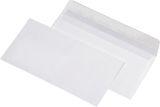 Briefumschläge DIN lang (220x110 mm),ohne Fenster, haftklebend, 100g/qm, 100 Stück