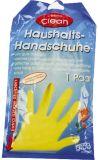 Latex Gummihandschuhe - Größe L, Pack mit 1 Paar, farbig sortiert