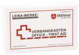 Betriebsverbandkasten Office-First Aid - inkl. Wandhalterung - Kunststoff