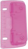 Taschenlocher - zum abheften. ice-pink. Kunststoff. Blister