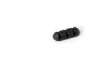 Kabel-Clip CAVOLINE® CLIP 3 - 20 x 12 x 52 mm, graphit, Kunststoff, 2 Stück