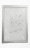 Informationsrahmen DURAFRAME® WALLPAPER - A4, 322 x 236 mm, silber
