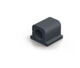 Kabel-Clip CAVOLINE® CLIP PRO 1 - 20 x 21 x 16 mm, graphit, Kunststoff, 6 Stück
