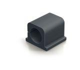 Kabel-Clip CAVOLINE® CLIP PRO 2 - 25 x 25 x 20 mm, graphit, Kunststoff, 4 Stück