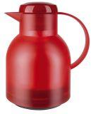 Samba Isolierkanne - 1,0 Liter, rot-transluzent