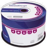 CD-R Rohlinge - 700MB/80Min, 52-fach/Spindel, 50 Stück
