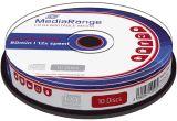 CD-RW Rewritables - 700MB/80Min, 12-fach/Spindel, 10 Stück
