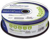DVD-R - 4.7GB/120Min, 16-fach/Spindel,bedruckbar, 25 Stück