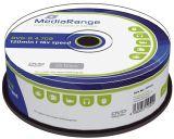 DVD-R - 4.7GB/120Min, 16-fach/Spindel, Packung mit 25 Stück