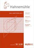 Millimeterblock A4 80 g/qm 50 Blatt