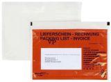 Begleitpapiertaschen mit Aufdruck Lieferschein - Rechnung, C6, 250 Stück